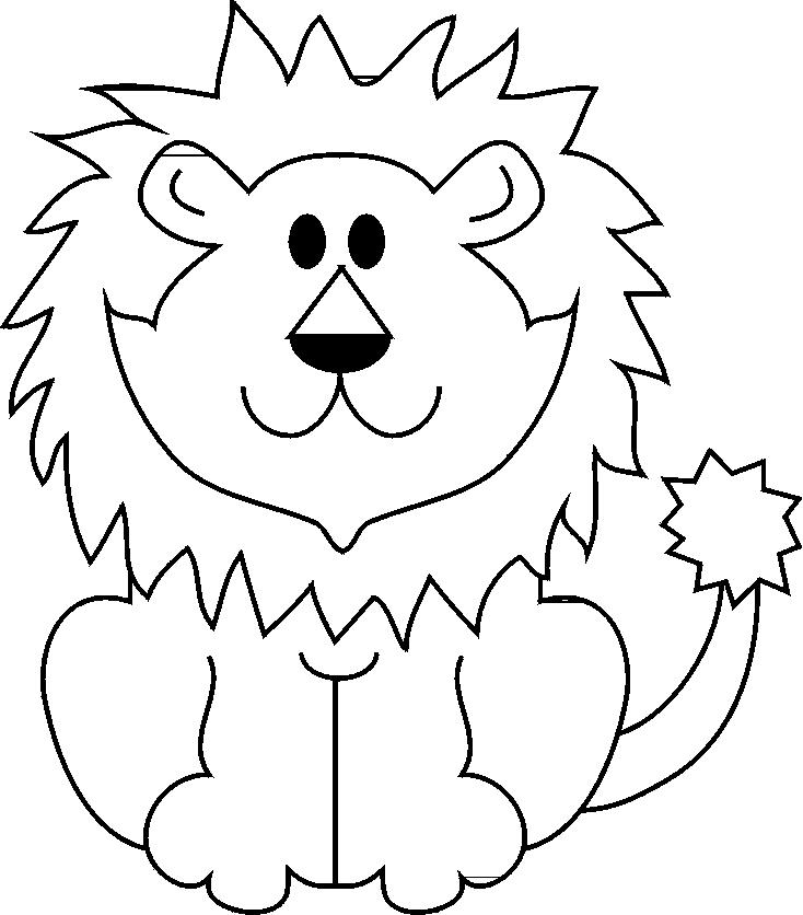 Disegno Di Il Leone Da Colorare Per Bambini
