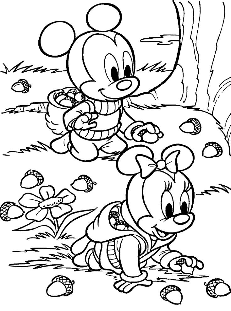 disegni da colorare e stampare baby disney