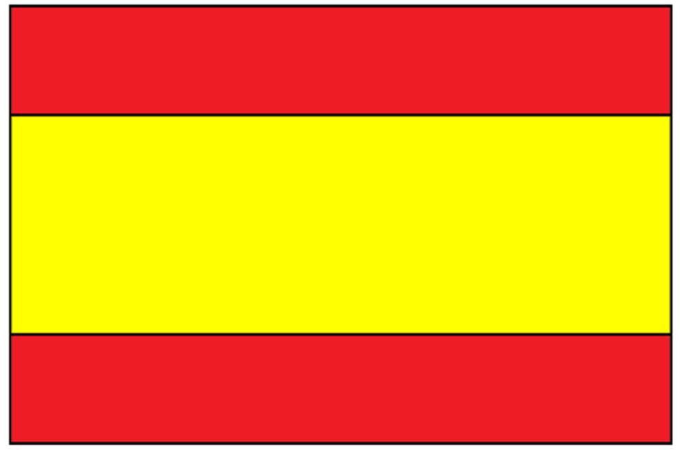 Risultato immagini per bandiera spangna foto da scaricare