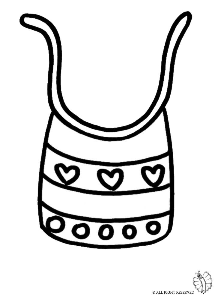 Estremamente Disegno di Carrozzina a colori per bambini  JV38