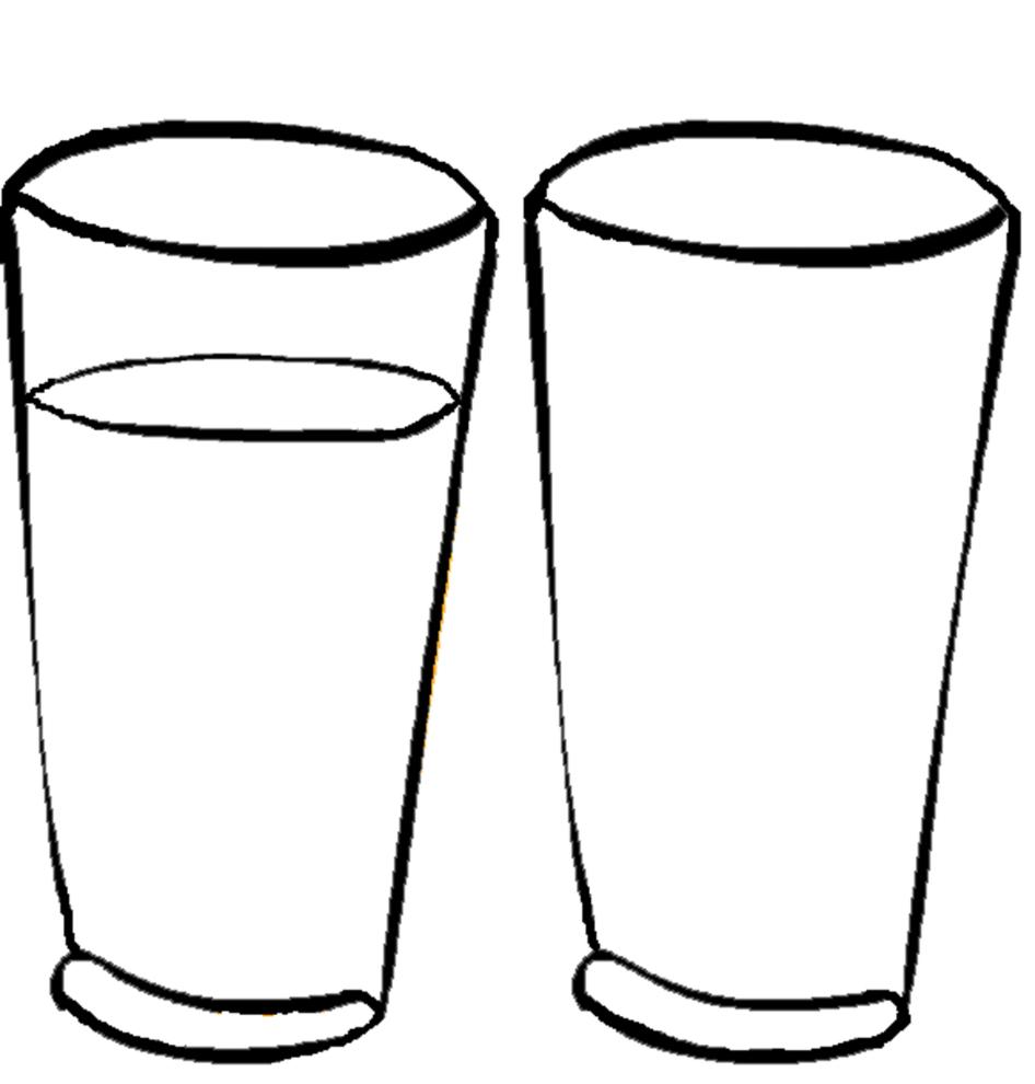Disegno Di Bicchieri Da Colorare Per Bambini Disegnidacolorareonline Com