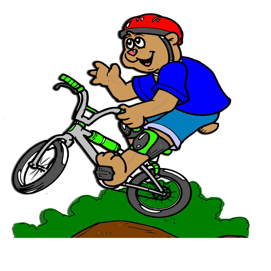 abbastanza Disegno di Mountain Bike a colori per bambini  IC31
