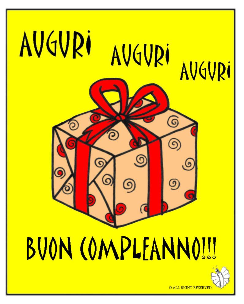 Bien-aimé Disegno di Biglietto Buon Compleanno a colori per bambini  XD66