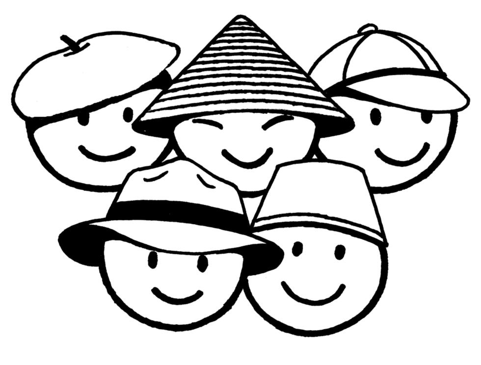 Famoso Disegno di Bimbi di Tutto il Mondo da colorare per bambini  TI71