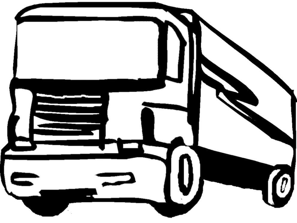 disegni da colorare auto e camion