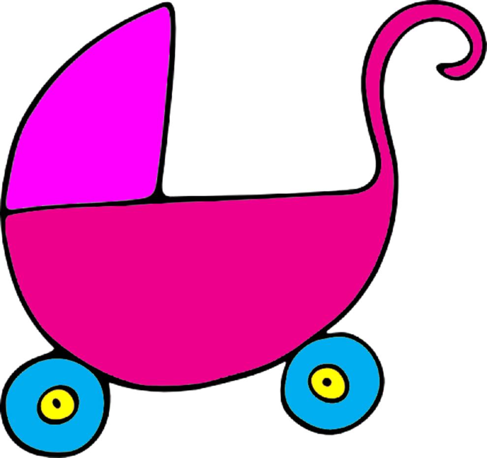 Preferenza Disegno di Carrozzina a colori per bambini  AJ36