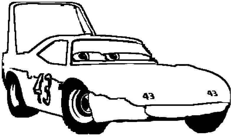 Disegni da colorare sul computer di auto timazighin - Profili auto per colorare ...