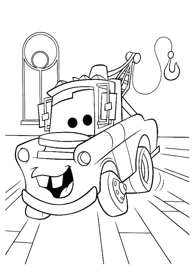 disegni da colorare sul computer cars