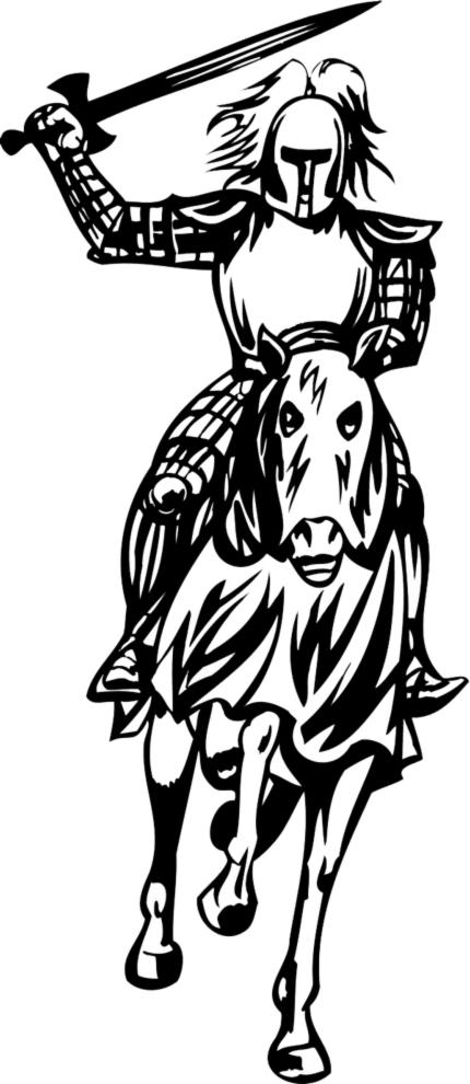 Disegni Da Colorare Cavalli E Cavalieri.Disegno Di Cavaliere Da Colorare Per Bambini Disegnidacolorareonline Com