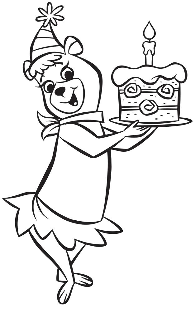 Popolare Disegno di Cindy Buon Compleanno da colorare per bambini  FX93
