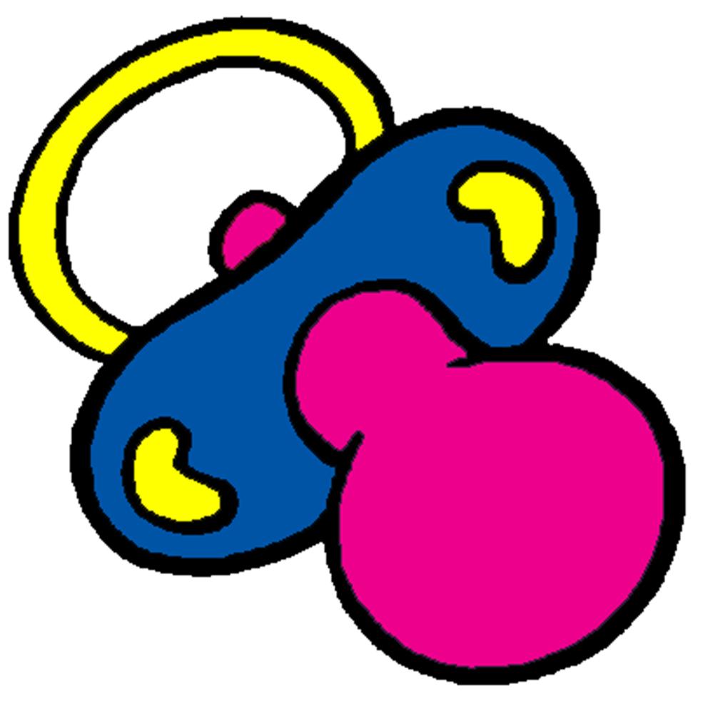 Conosciuto Disegno di Ciucciotto a colori per bambini  BQ14