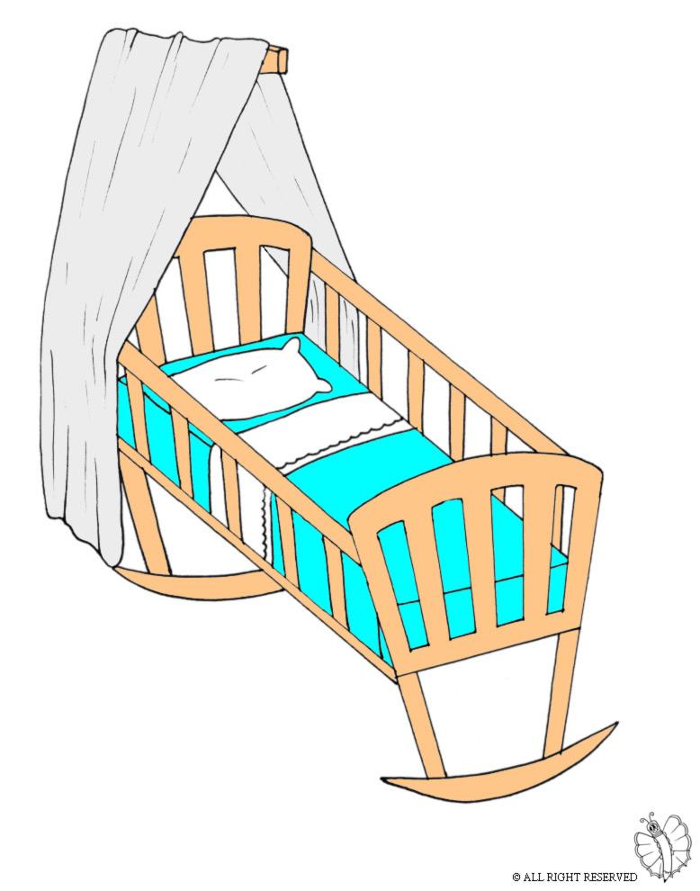 Favoloso Disegno di Carrozzina a colori per bambini  RI49