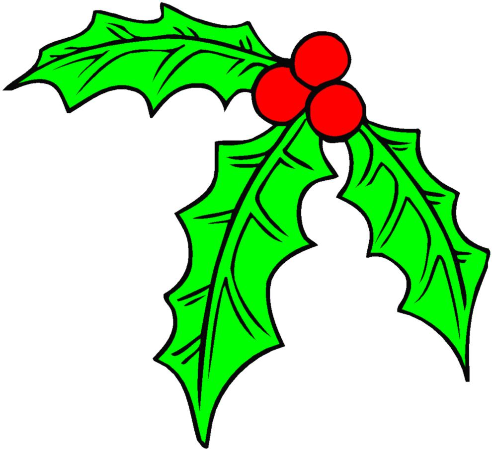 Disegni natalizi stilizzati ej14 pineglen - Agrifoglio immagini a colori ...