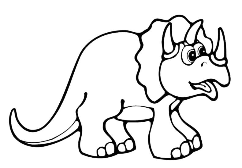 Disegni Dinosauri Da Colorare Per Bambini Fredrotgans