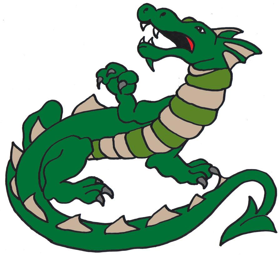 abbastanza Disegni con draghi per bambini - disegnidacolorareonline.com TP86