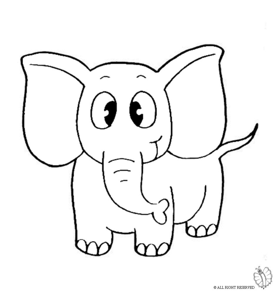 Elefante da colorare per bambini nt95 regardsdefemmes for Comodini per bambini online
