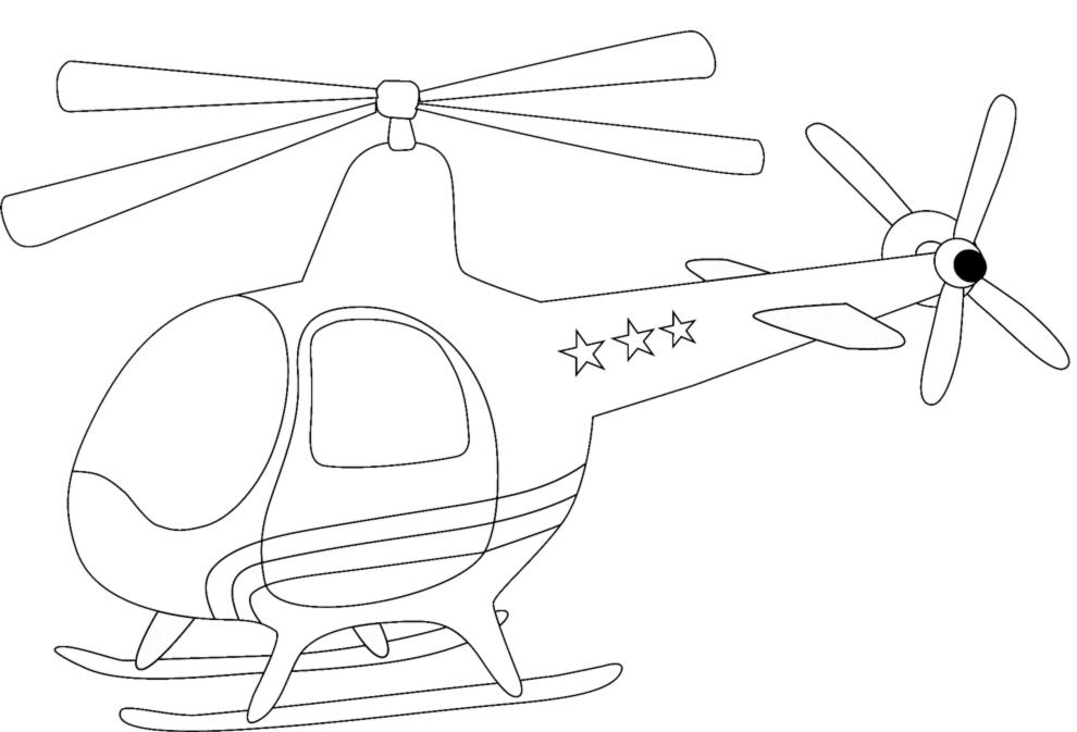 Disegni da colorare di elicotteri fare di una mosca for Comodini per bambini online