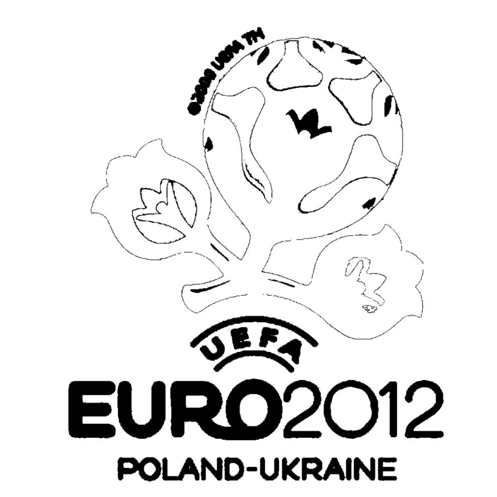 Disegno Di Europei Ucraina Polonia Da Colorare Per Bambini