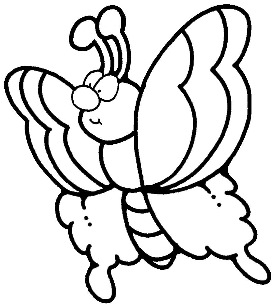Disegni da colorare gratis di farfalle fredrotgans for Immagini farfalle per desktop