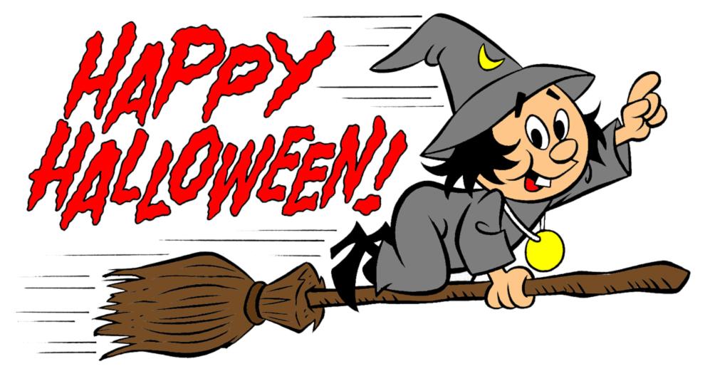 Disegno Di Festa Di Halloween A Colori Per Bambini