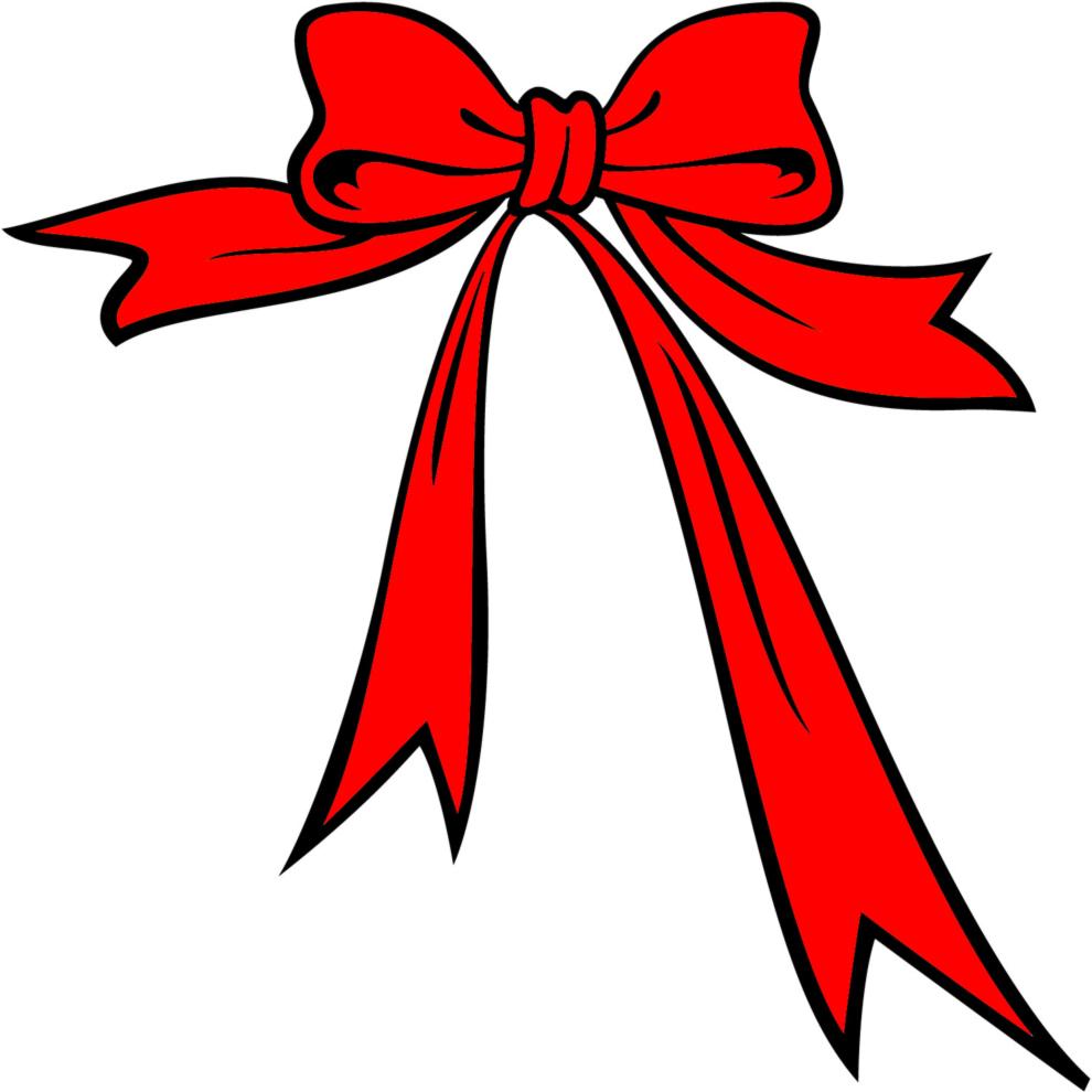 Estremamente Disegno di Fiocco di Natale a colori per bambini  PL94