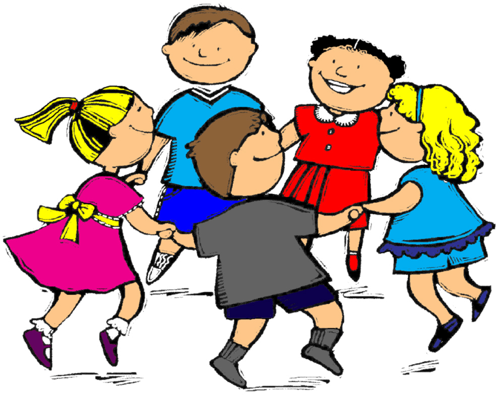 Estremamente Disegno di Girotondo a colori per bambini  YU54