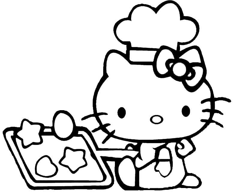 disegni da colorare sul pc di hello kitty