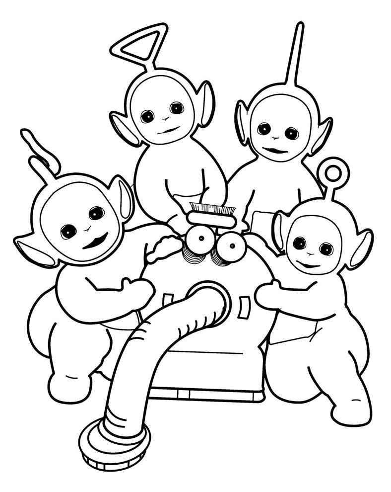 Disegni da colorare dei personaggi cartoni animati