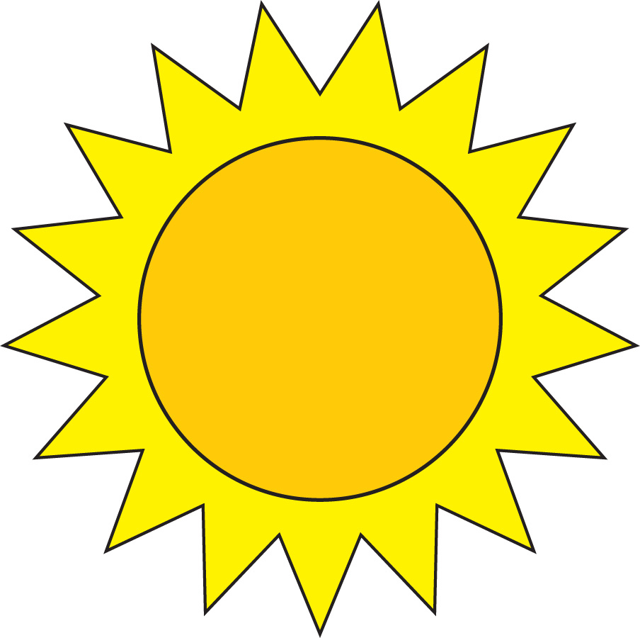 Super Disegno di Il Sole a colori per bambini - disegnidacolorareonline.com CZ04