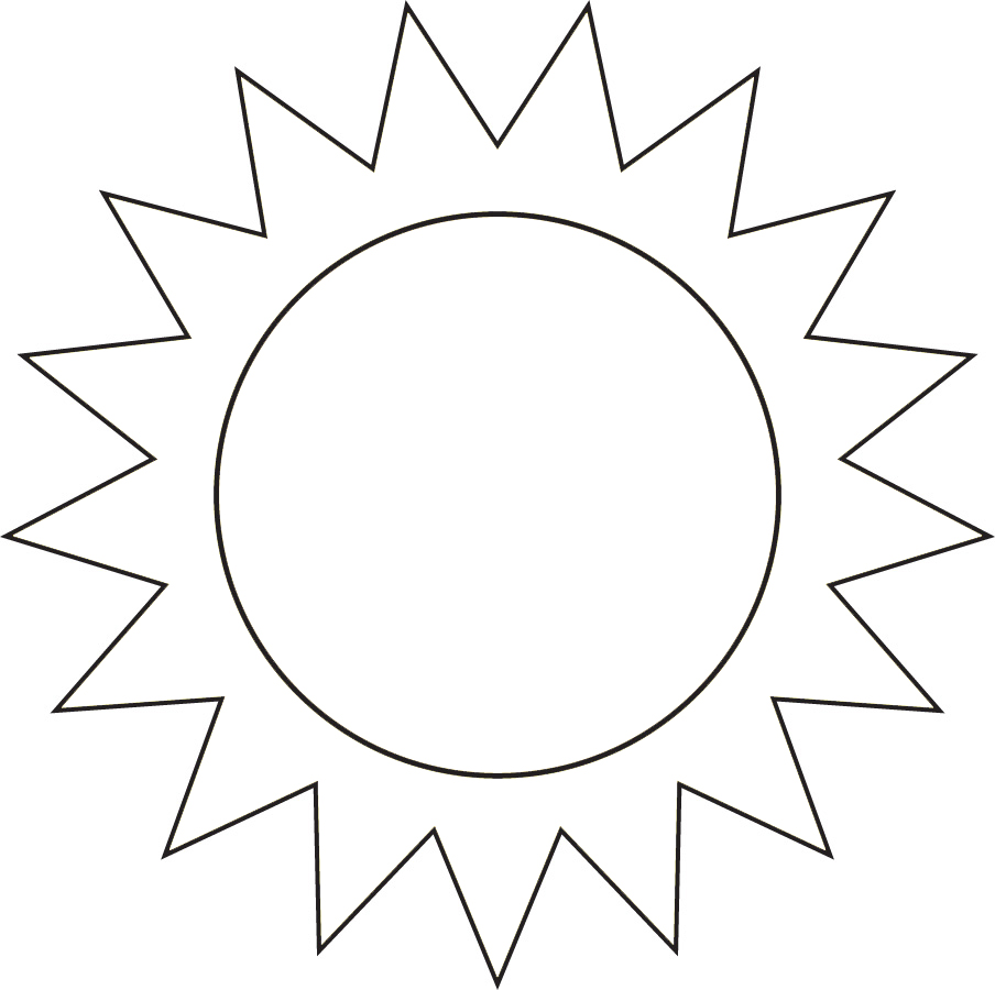 abbastanza Disegno di Il Sole da colorare per bambini  CP06