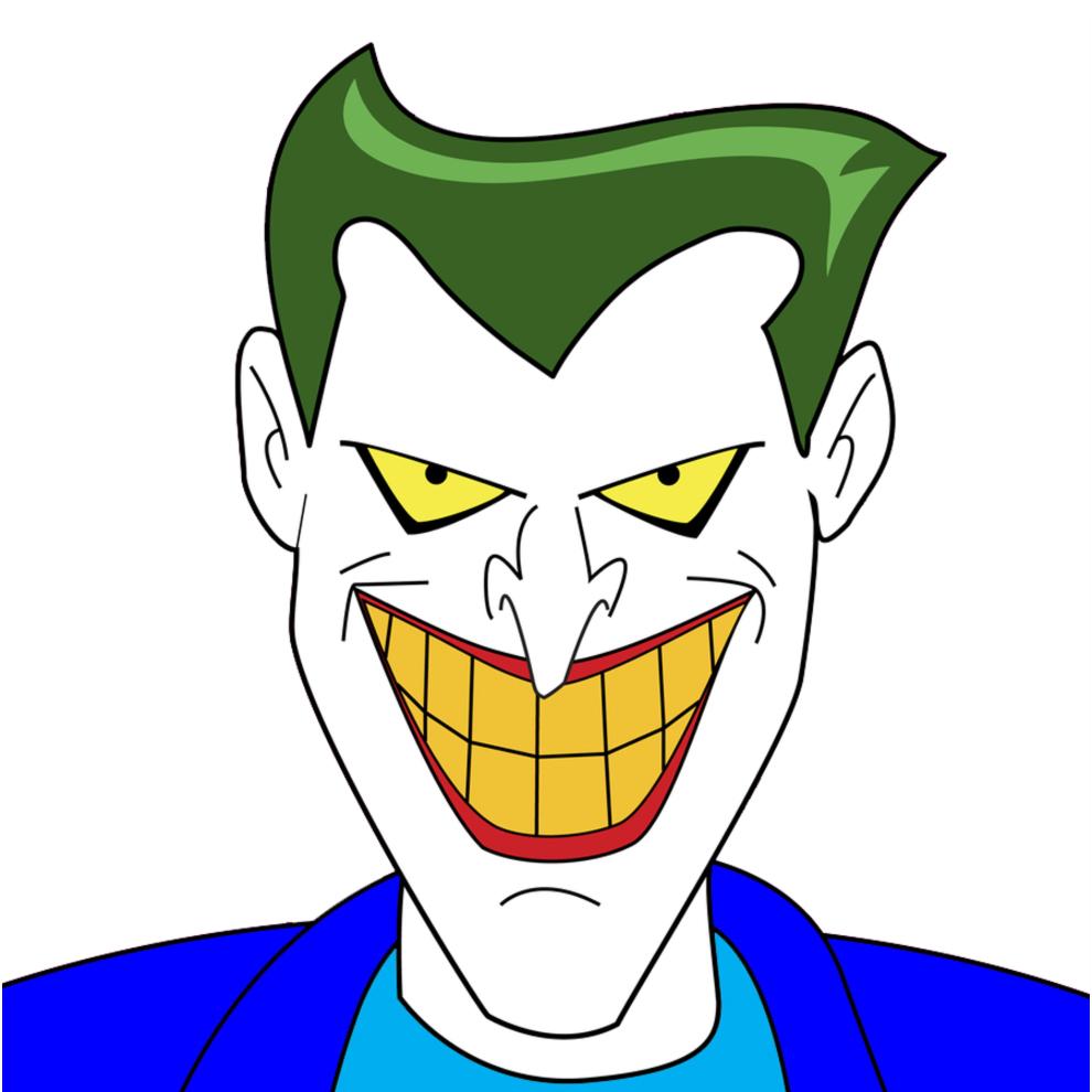 Joker Da Colorare.Disegno Di Joker A Colori Per Bambini Disegnidacolorareonline Com