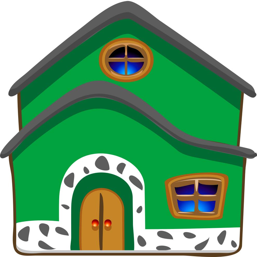 disegni con case per bambini - disegnidacolorareonline.com - Disegni Case Bambini