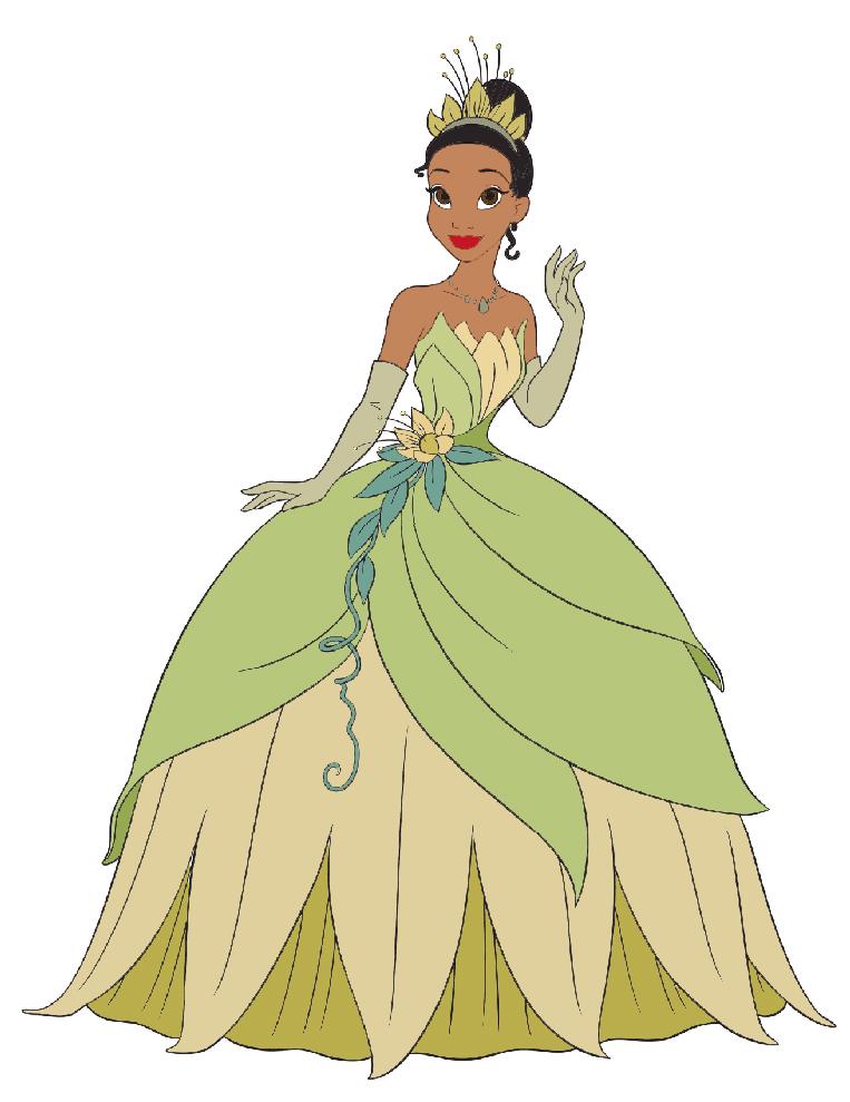 Amato Disegno di La Principessa Tiana a colori per bambini  LB96