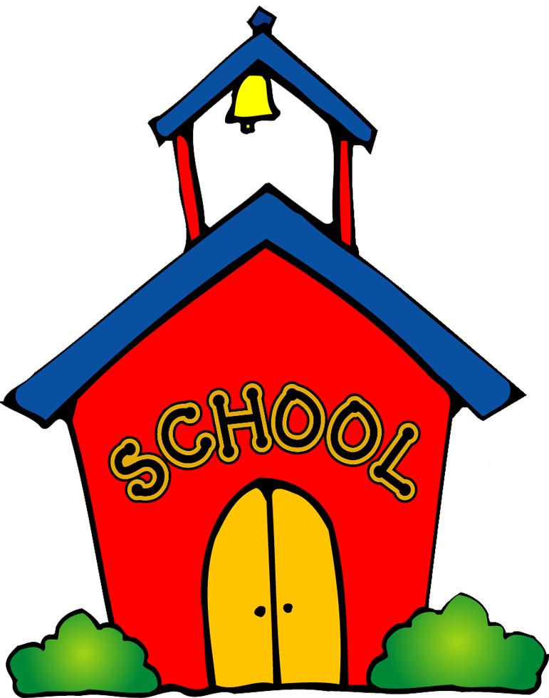 Disegno Di La Scuola A Colori Per Bambini Disegnidacolorareonline Com