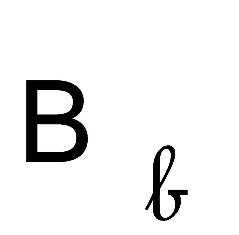 Bambini lettere dell alfabeto lettera e corsivo maiuscolo pictures to - Disegno Di Lettera B Corsivo E Stampatello Da Scaricare