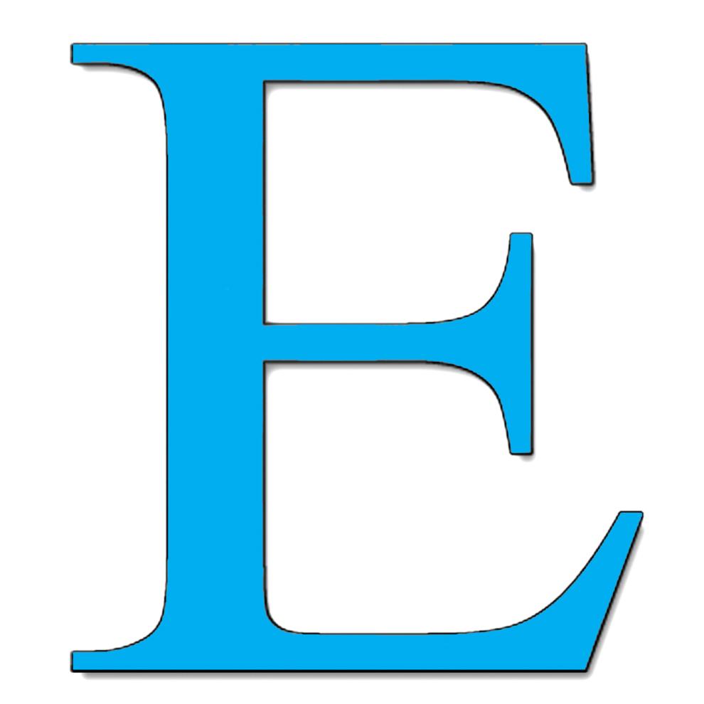 Bambini lettere dell alfabeto lettera e corsivo maiuscolo pictures to - Disegno Di Lettera E A Colori