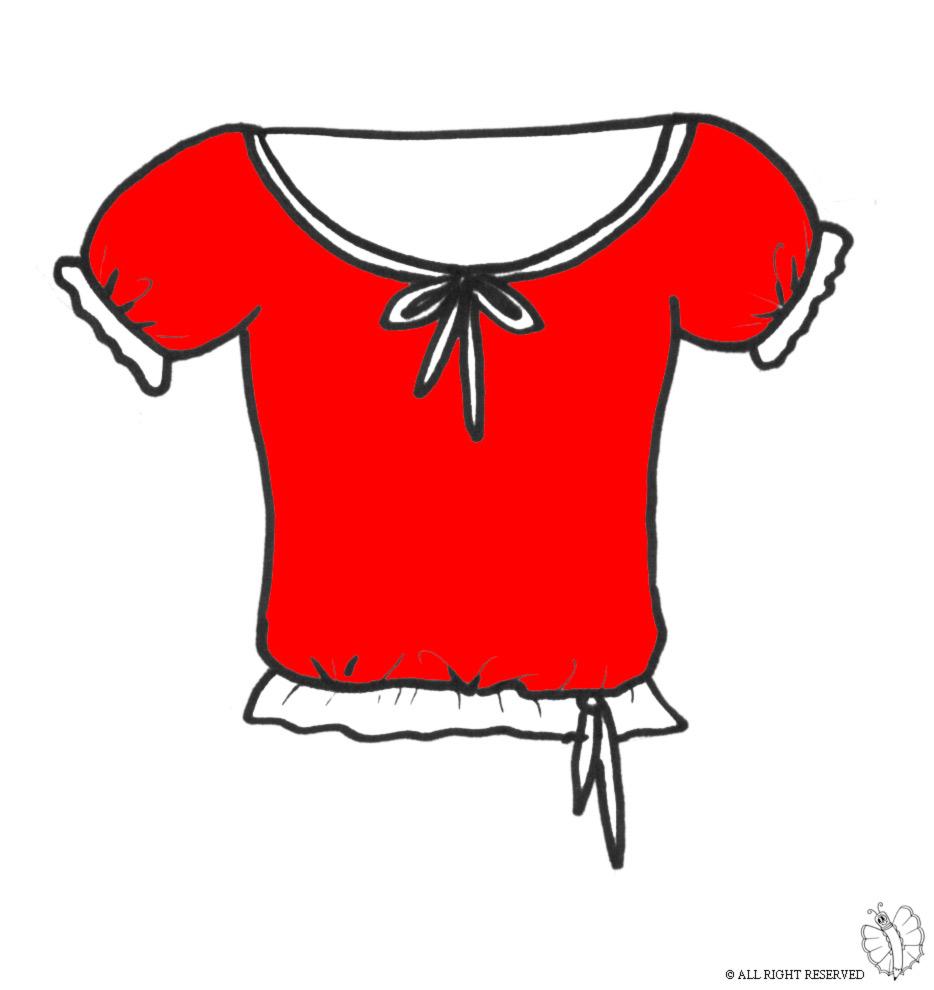 Di Da Colorare Per Bambini Maglietta Disegno YH2IEWD9