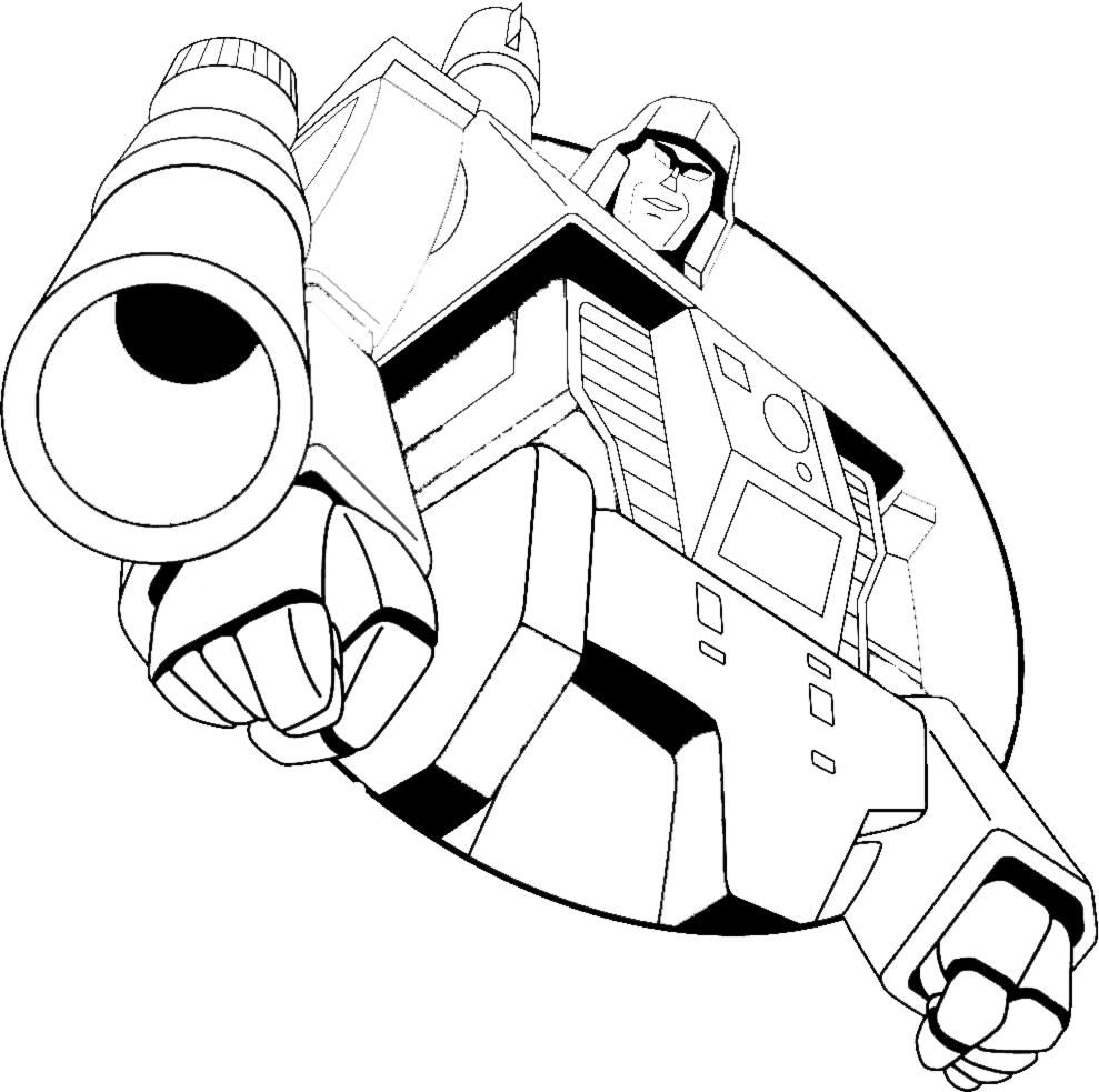 disegni da colorare e stampare gratis transformers
