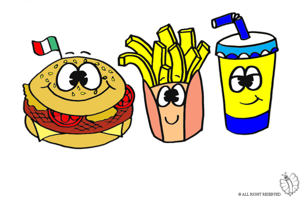 Disegni colorati di bambini great disegno upinguinou