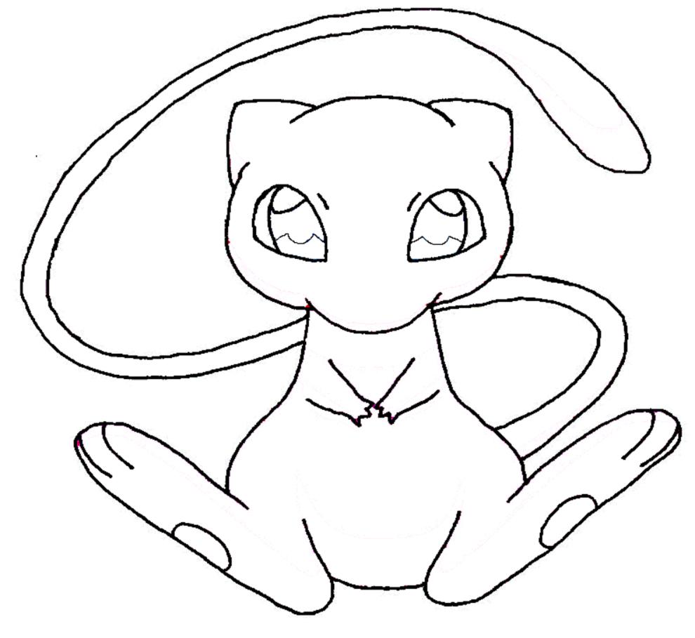 Disegni da colorare di pokemon timazighin - Mewtwo pagina da colorare ...