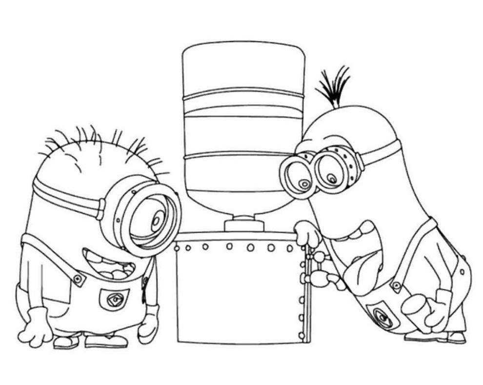 Immagini Di Minion Da Disegnare Powermall