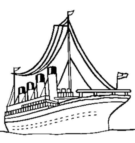 Disegno Di Nave Per Crociera Da Colorare Per Bambini Disegnidacolorareonline Com