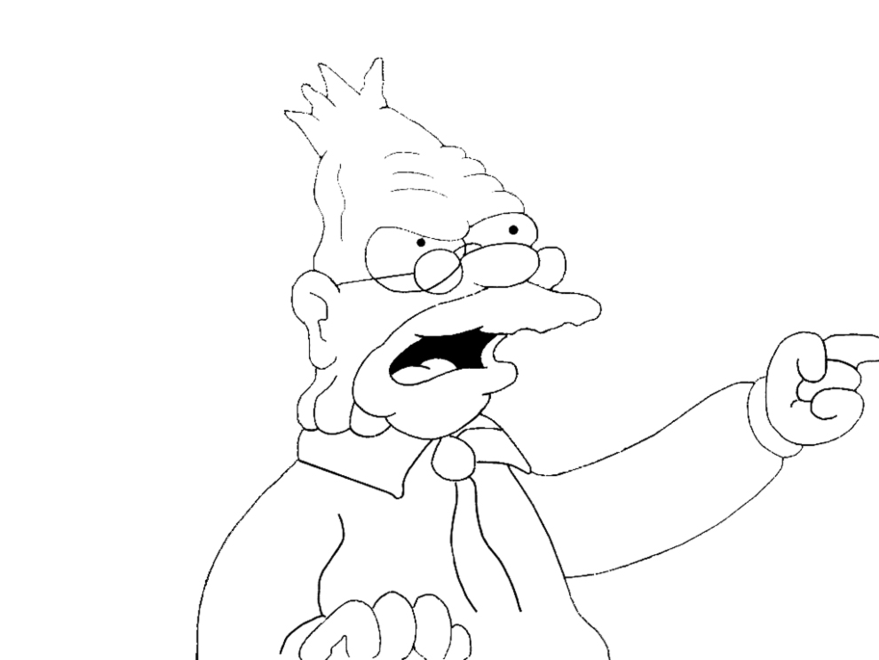 Disegni Da Colorare Di Simpsons