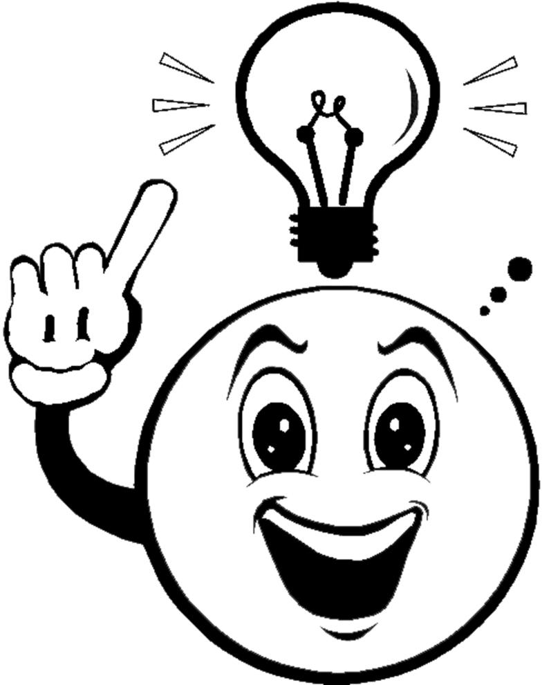 Disegno Di Emoticon Sorriso Da Colorare Per Bambini