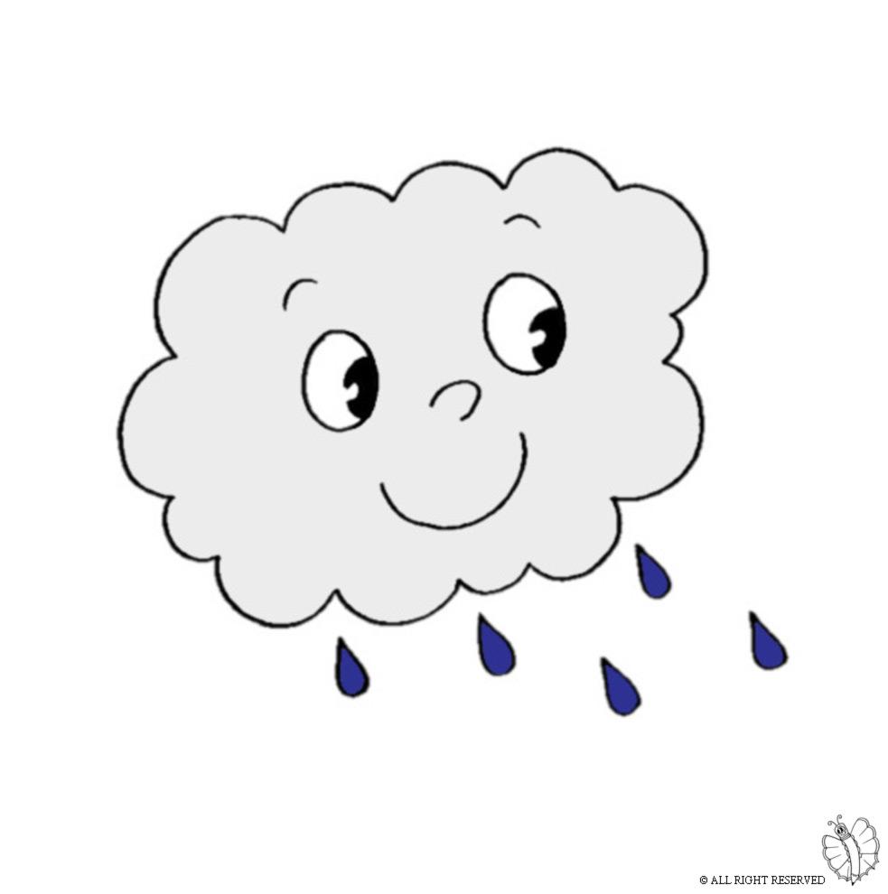 Disegni per bambini nuvole disneyreport for Nuvola da colorare