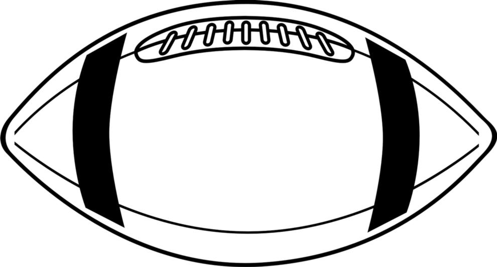 Disegno Pallone Da Colorare.Disegno Di Pallone Da Football Da Colorare Per Bambini