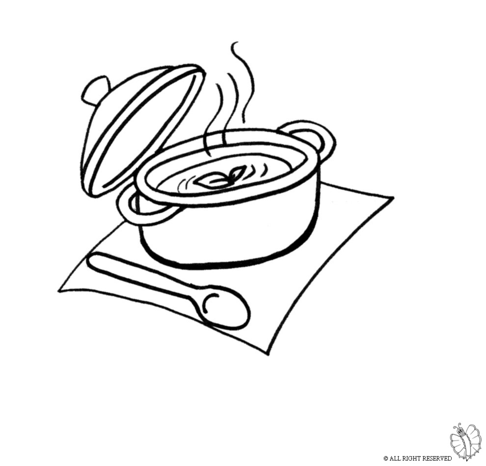 Emejing disegni cucina da stampare gallery design for Disegni da colorare cucina