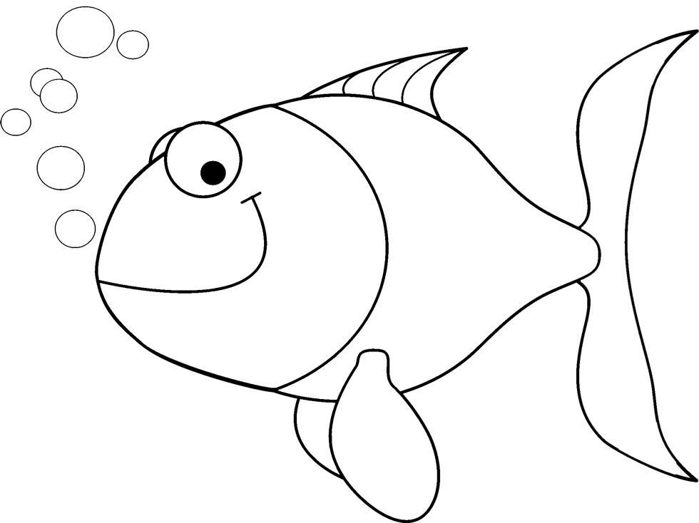 Pesci da colorare per bambini du28 regardsdefemmes for Disegni pesciolino arcobaleno