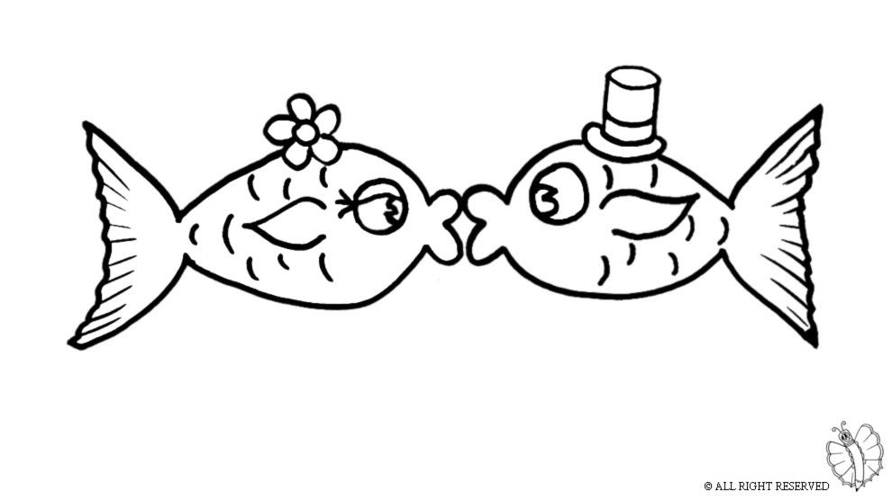 Pesciolini da colorare per bambini qo92 regardsdefemmes for Immagini di pesci da disegnare