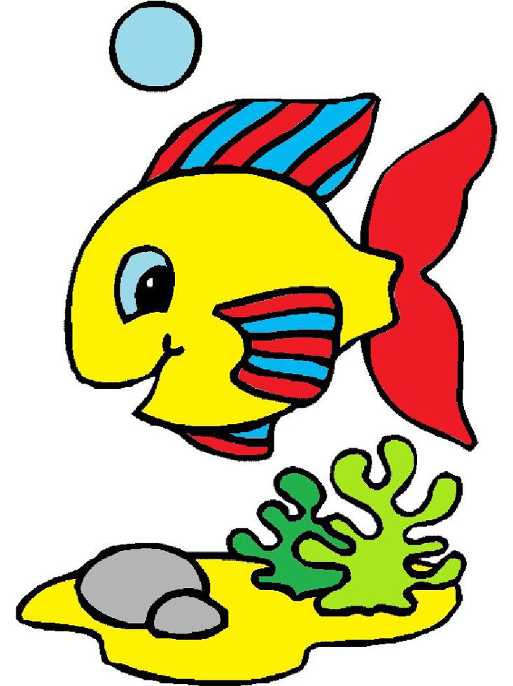 Disegni Con Pesci Per Bambini Disegnidacolorareonline Com